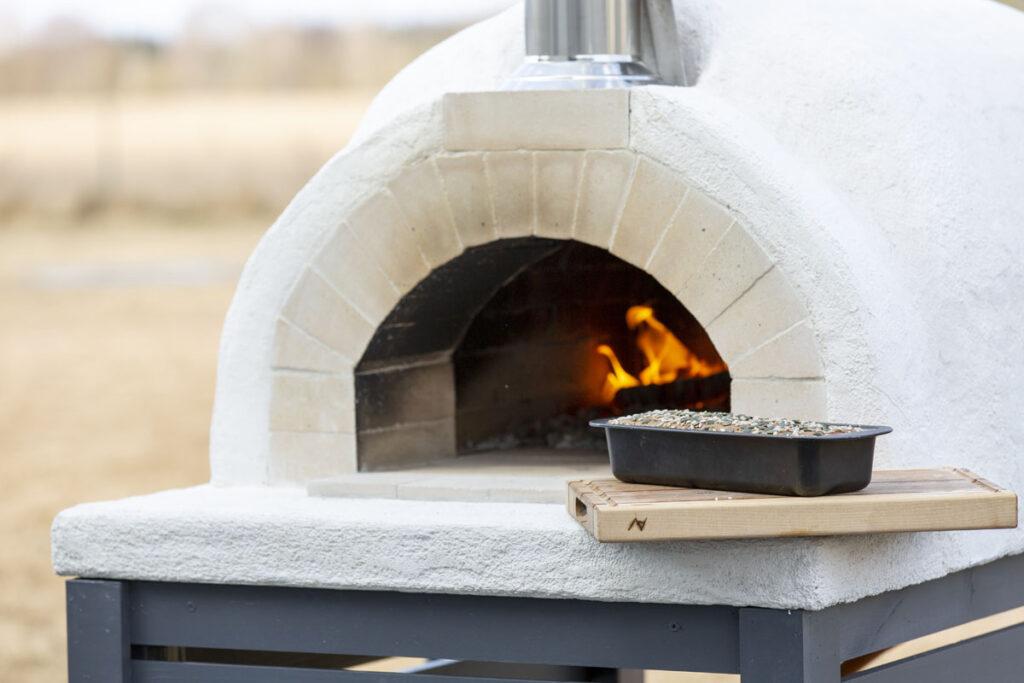 Leivaküpsetamine pitsaahjus